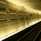Picture - The interior of the Washington, metro.