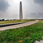 Picture - Path to the Washington Monument on Capitol Hill, Washington.