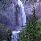 Picture - Waterfall at Mount Rainier National Park.