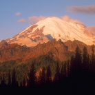Picture - Eastern face of Mount Rainier, Chinook Pass.