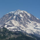 Picture - Close up of Mount Rainier.
