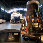Picture - Interior of the National Air and Space Museum, Washington.