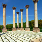 Picture - Columns at the National Arboretum in Washington.