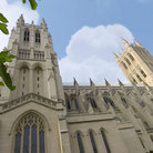 Picture - Close up of the Washington National Cathedral.