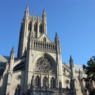 Picture - Exterior of the National Cathedral Washington.