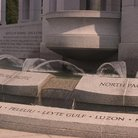 Picture - The World War II monument in Washington, the portion honoring Pacific Theater battles.