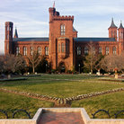 Picture - The Smithsonian Castle in Washington.