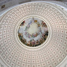 Picture - Interior of the Capitol Building in Washington.