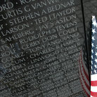 Picture - The Vietnam Memorial in Washington.