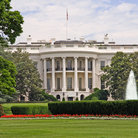 Picture - White House and lawn, Washington.