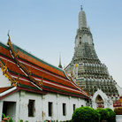 Picture - View of Wat Arun (Temple of Dawn) in Bangkok.