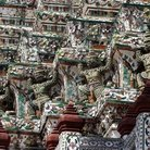 Picture - Detail from Wat Arun in Bangkok.