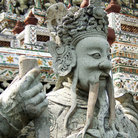 Picture - Demon Temple Guard at Wat Arun in Bangkok.