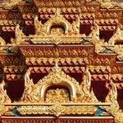 Picture - Detail of Wat Chalong, Phuket.
