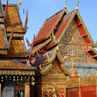 Picture - Doi Suthep temple in Chiang Mai.