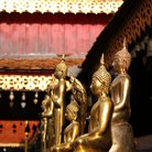 Picture - Statues at the Doi Suthep temple in Chiang Mai.