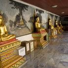 Picture - Buddha statues at Doi Suthep Temple in Chiang Mai.