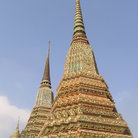 Picture - Top of Wat Pho in Bangkok.