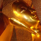 Picture - The Temple of the Reclining Buddha in Bangkok.