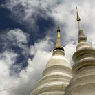 Picture - The top of Phra Singh temple in Chiang Mai.