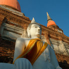 Picture - Buddha found at Wat Yai Chai Mongkol in Ayutthaya.
