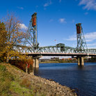 Picture - A view from Waterfront Park in Portland.