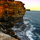 Picture - The Gap at Watsons Bay, near South Head, Sydney.