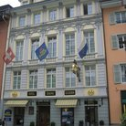 Picture - Hotel Krone in Weinmarkt square in Lucerne.