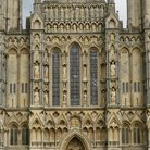 Picture - Detail of the Wells Cathedral in Somerset.