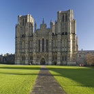 Picture - The St Andrews Cathedral, known as the Wells Cathedral.