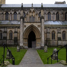 Picture - Side shot of Wells Cathedral in Somerset.