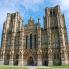 Picture - Wells Cathedral, west facade.