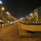 Picture - St Wenceslas Square at night, Prague.