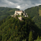 Picture - The hilltop castle of Werfen.