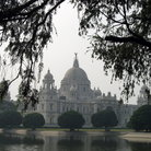 Picture - The Victoria Monument in Calcutta.