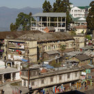 Picture - View over Darjeeling.