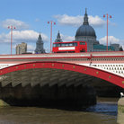 Picture - Blackfriars Bridge in London.