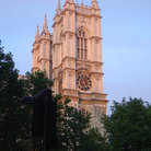 Picture - The Abbey of Westminster in London.