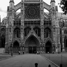 Picture - Entrance to Westminster Abbey.