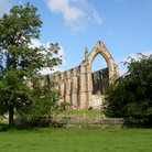 Picture - The ruins of Bolton Abbey.