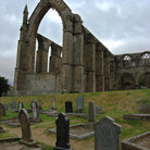 Picture - The remains of Bolton Abbey near Skipton.