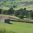Picture - The countryside of Wharfedale.