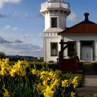 Picture - Mukilteo Lighthouse located near Whidbey Island.