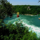 Picture - Aero Car over the Whirlpool at the Niagara Gorge.
