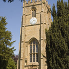 Picture - A church tower in Whitchurch.