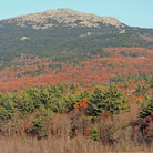 Picture - Mount Monadnock in the White Mountains of New Hampshire.