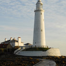 Picture - St Mary's Lighthouse at Whitely Bay.