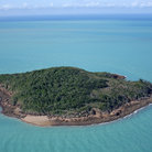 Picture - Island in the Whitsundays.