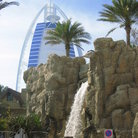Picture - A water falls at the Wild Wadi Water Park in Dubai.