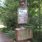 Picture - Sign for Opal Creek at Willamette National Forest.